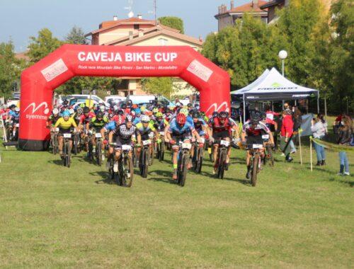 La partenza del Caveja Bike Cup a Villa Verucchio 2020